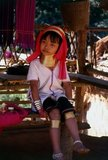 The Padaung or Kayan Lahwi or Long Necked Karen are a subgroup of the Kayan, a mix of Lawi tribe , Kayan tribe and several other tribes. Kayan are a subgroup Red Karen (Karenni) people, a Tibeto-Burman ethnic minority of Burma (Myanmar).